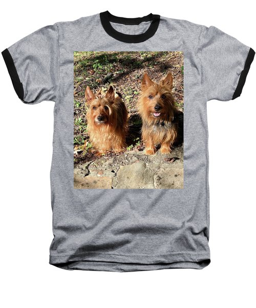 Jack And Lily 2 Baseball T-Shirt
