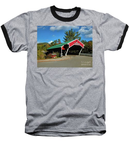 Jackson Covered Bridge Baseball T-Shirt