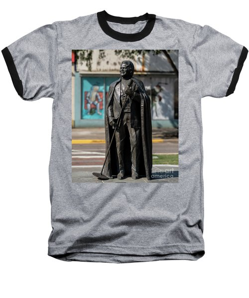 James Brown Statue - Augusta Ga 2 Baseball T-Shirt