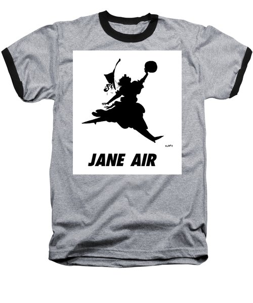 Jane Air Baseball T-Shirt