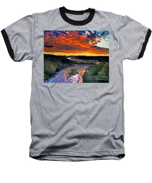 January Sunset Baseball T-Shirt