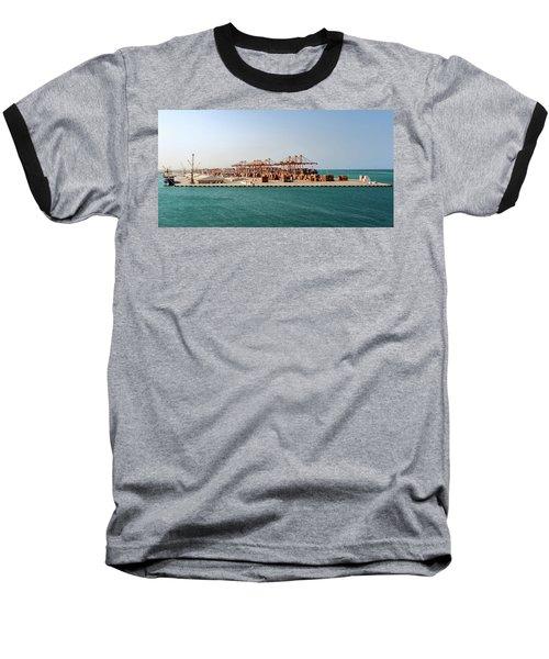 Jeddah Seaport Baseball T-Shirt