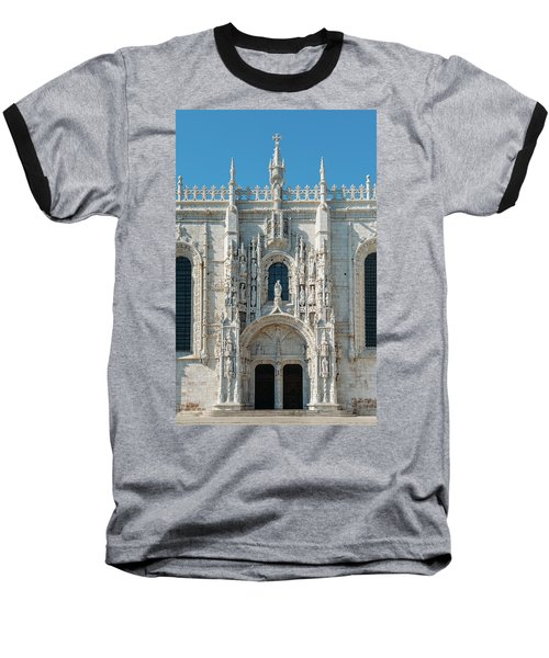 Jeronimos Monastery, Portugal Baseball T-Shirt