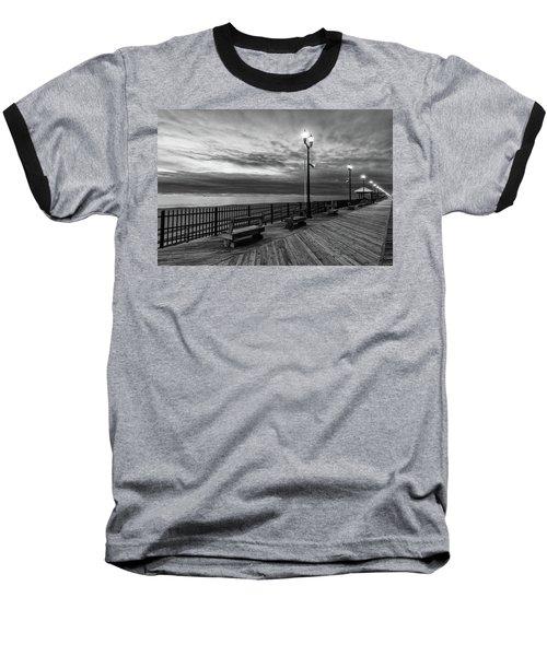 Jersey Shore In Winter Baseball T-Shirt