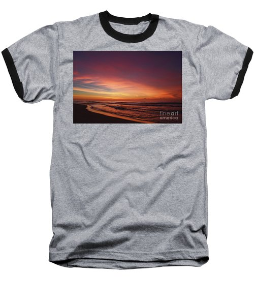 Jersey Shore Sunrise Baseball T-Shirt