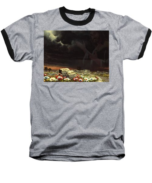 Jesus And His Jewels Baseball T-Shirt