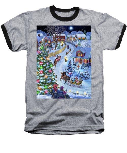Jingle All The Way Baseball T-Shirt