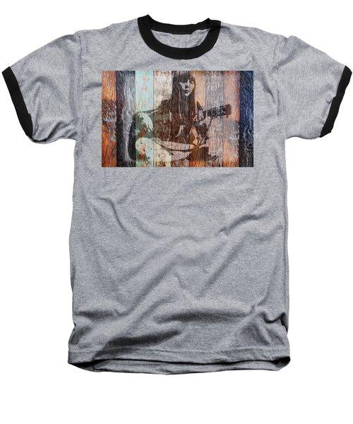 Joni Mitchell Baseball T-Shirt
