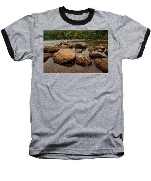 Jordon Pond Boulders Baseball T-Shirt