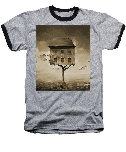 Journey Starts  Baseball T-Shirt