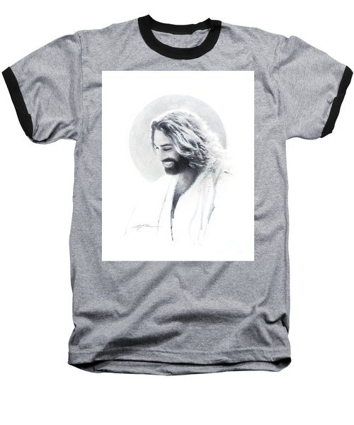 Joy Of The Lord Vignette Baseball T-Shirt