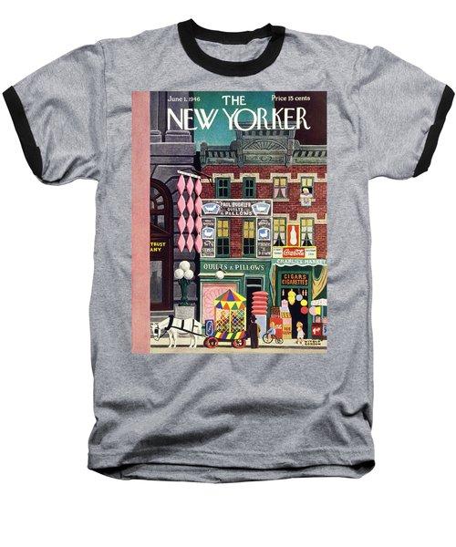 New Yorker June 1st 1946 Baseball T-Shirt