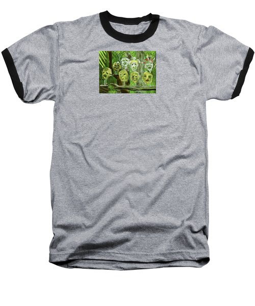 Jungle Spirits Baseball T-Shirt