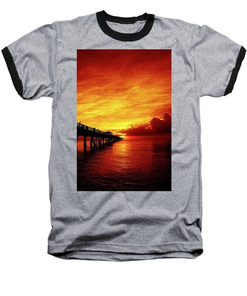 Juno Pier 2 Baseball T-Shirt