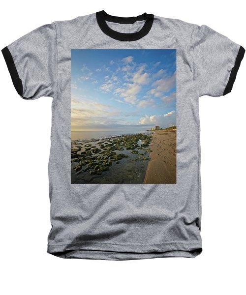 Jupiter Island Shoreline Baseball T-Shirt