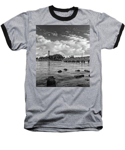 Jupiter Lighthouse 2 Baseball T-Shirt