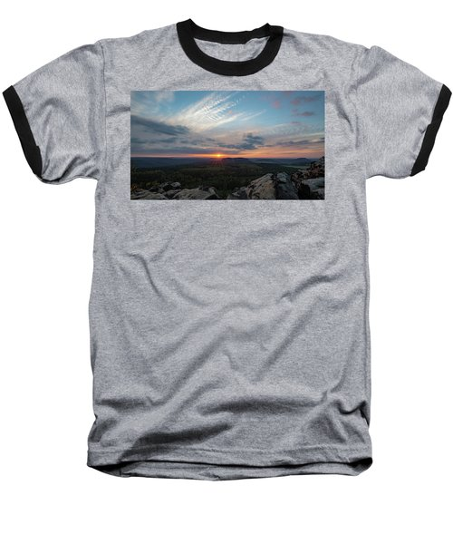 Just Before Sundown Baseball T-Shirt