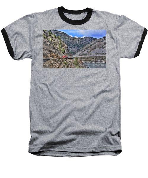 Just Passing Through Baseball T-Shirt