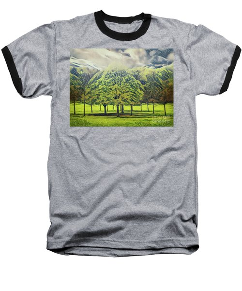 Baseball T-Shirt featuring the photograph Just Trees by Leigh Kemp