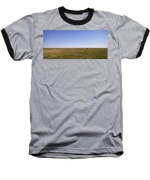 Just Walk To The Horizon Baseball T-Shirt