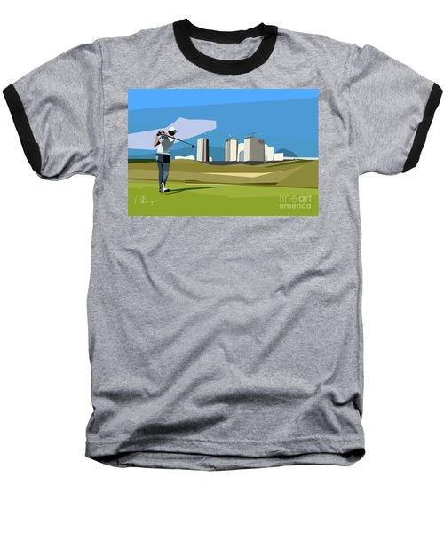 Justin Rose In Rio  Baseball T-Shirt