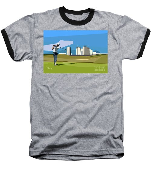 Justin Rose In Rio  Baseball T-Shirt