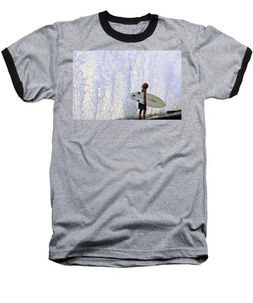 Ka Nalu Nui Loa Baseball T-Shirt
