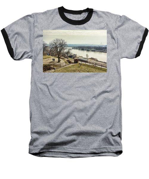Kalemegdan Park Fortress In Belgrade Baseball T-Shirt