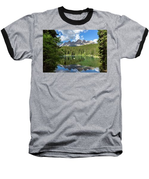 Karersee And Rosengarten Group Baseball T-Shirt