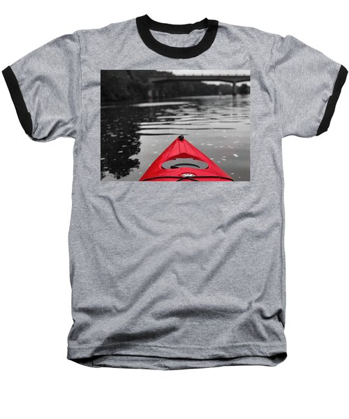 Kayaking The Occoquan Baseball T-Shirt