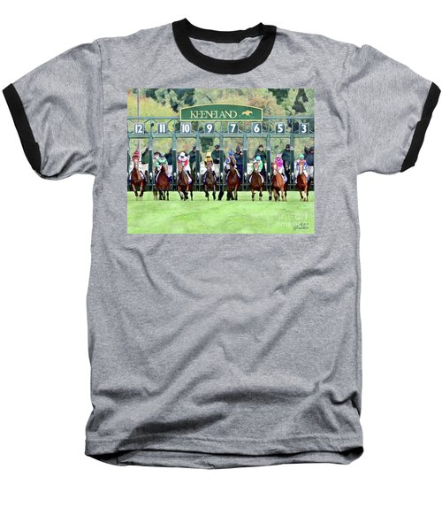 Keeneland Starting Gate Baseball T-Shirt