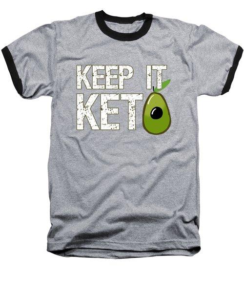 Keep It Keto Baseball T-Shirt