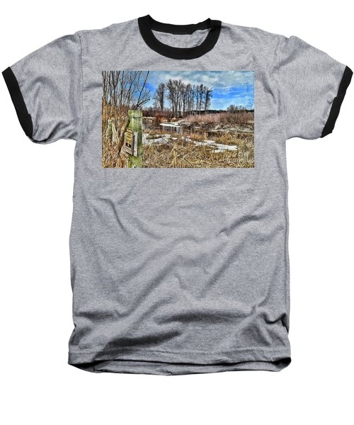 Keep Out Baseball T-Shirt