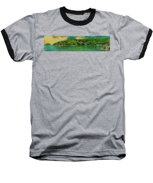 Baseball T-Shirt featuring the photograph Keeping An Eye On The Big Picture by Leigh Kemp