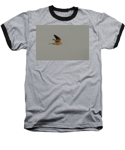 Kestrel Sundown Flyby Baseball T-Shirt