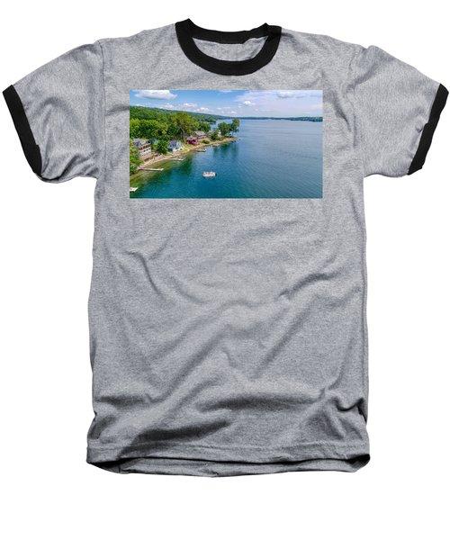 Keuka Boat Day Baseball T-Shirt