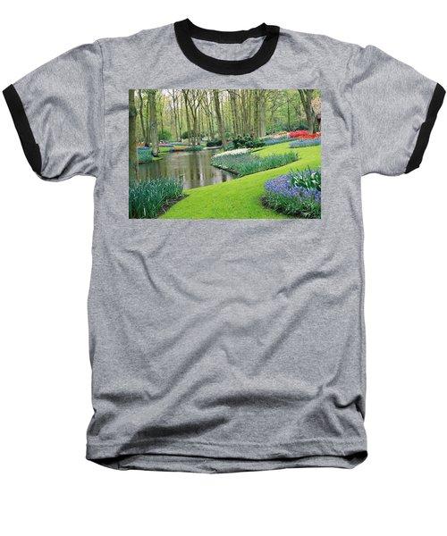 Keukenhof Gardens Baseball T-Shirt