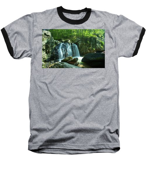 Kilgore Falls In Summer Baseball T-Shirt