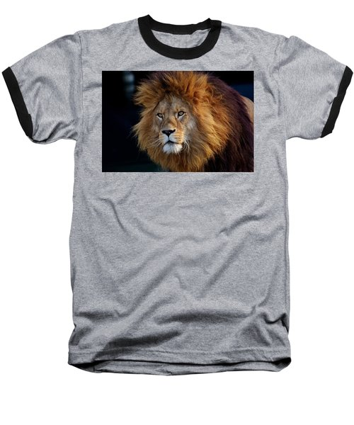 King Lion Baseball T-Shirt