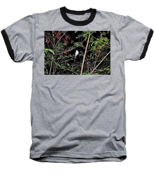 Kingbird At Night Baseball T-Shirt