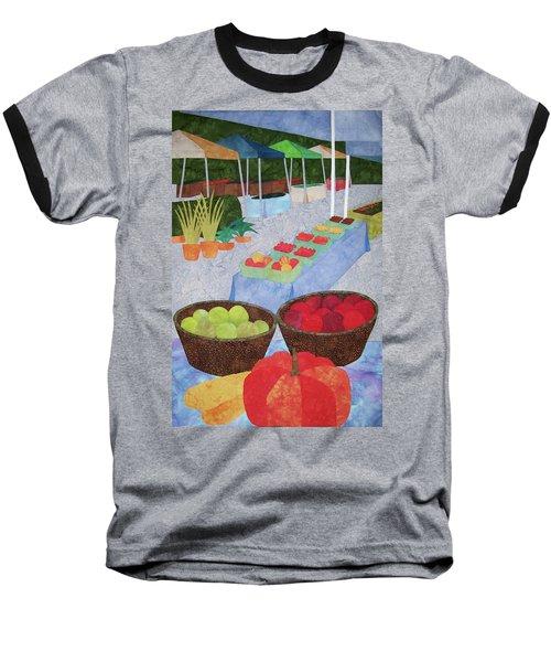 Kings Yard Farmers Market Baseball T-Shirt