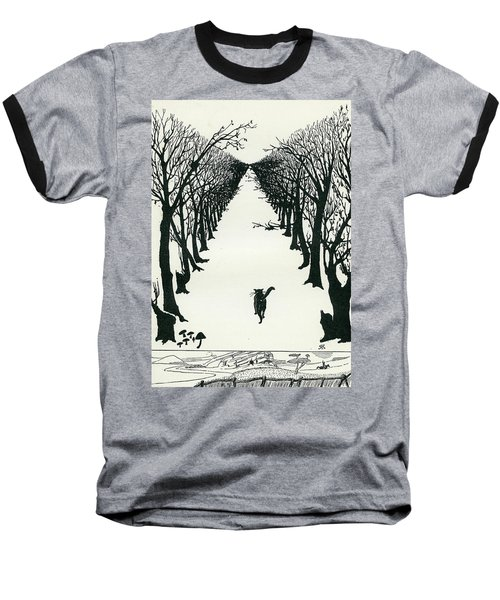 The Cat That Walked By Himself Baseball T-Shirt