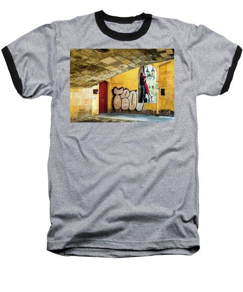 Kissing Under The Bridge Baseball T-Shirt