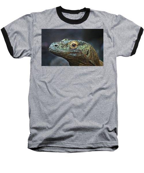 Komodo Dragon Baseball T-Shirt