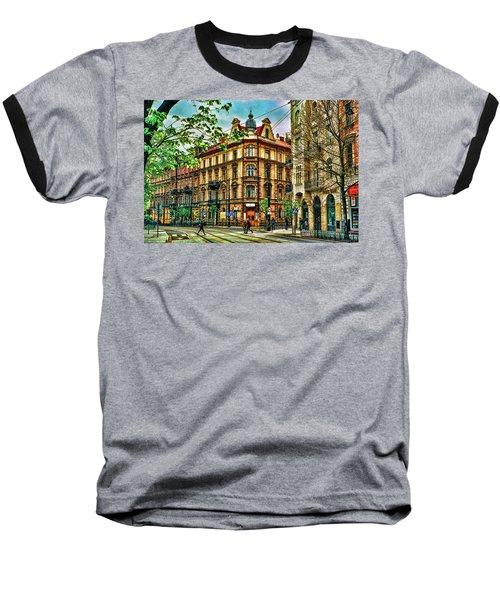 Krakow Poland Baseball T-Shirt