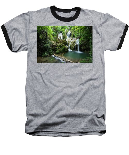 Krushunski Waterfalls Baseball T-Shirt