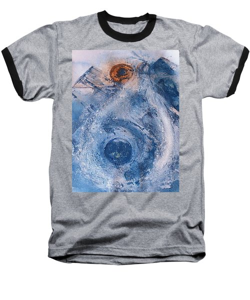 Baseball T-Shirt featuring the painting  La Donna Del Lago by 'REA' Gallery