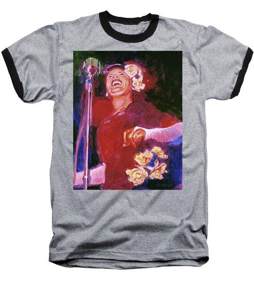 Lady Day - Billie Holliday Baseball T-Shirt
