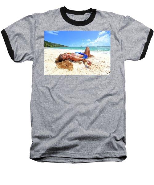 Lady Of The Leewards Baseball T-Shirt