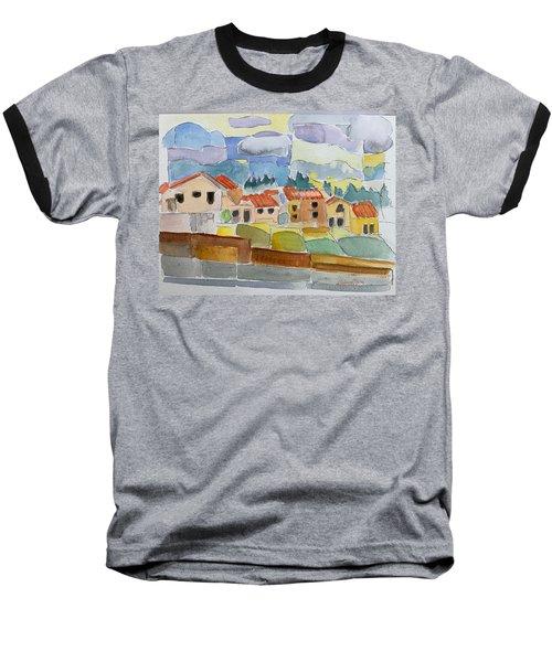 Laguna Del Sol Sky Design Baseball T-Shirt